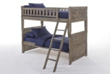 Cape Cod Dolphin Bunk in Gray Wash Finish