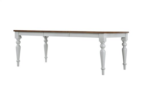 Emerald Home D494-10 Cliff Haven Dining Table, Gray Mist