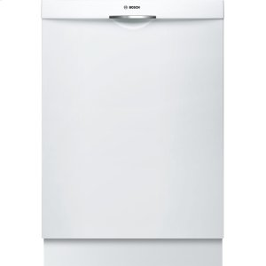 "Bosch24"" Scoop Handle Dishwasher 300 Series- White SHS63VL2UC"
