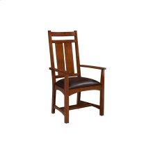 Dining - Oak Park Wide Slat Back Chairs
