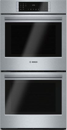 "27"" Double Wall Oven, HBN8651UC, Stainless Steel"