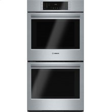800 Series built-in double oven 27'' Stainless steel HBN8651UC