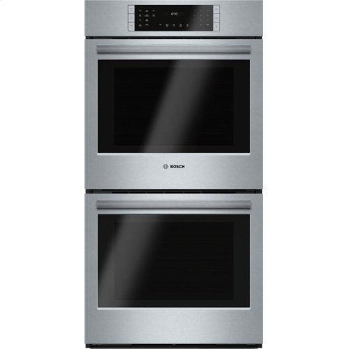 """800 Series 27"""" Double Wall Oven, HBN8651UC, Stainless Steel"""
