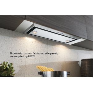 "Best21-3/16"" SS Range Hood w/ internal P6 blower"