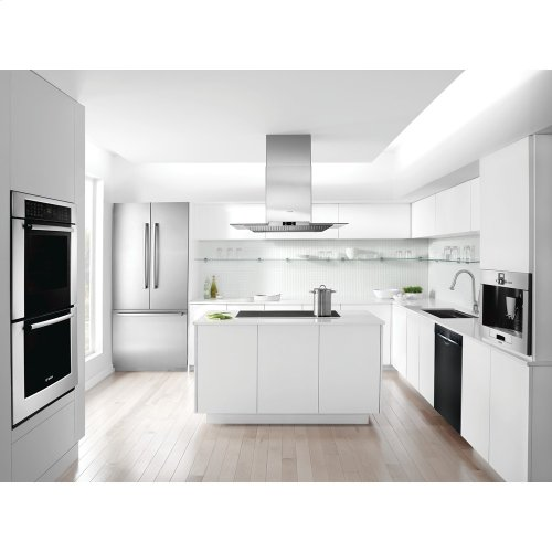 24 '' Recessed Handle Dishwasher Ascenta- Black