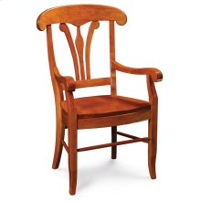 Marseille Arm Chair, Fabric Cushion Seat