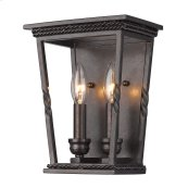 Davenport 2 Light Wall Sconce in Etruscan Bronze
