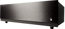 2-channel power amplifier; 125 watts per channel continuous power into 8 ohms.