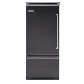 "Graphite Gray 36"" Bottom-Mount Refrigerator/Freezer - VIBB (Left Hinge Door)"