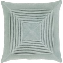 "Akira AKA-001 22"" x 22"" Pillow Shell with Down Insert"