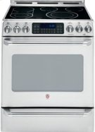 "30"" Slide-In Electric Self Cleaning Convection Range with Baking Drawer Product Image"