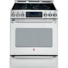 """30"""" Slide-In Electric Self Cleaning Convection Range with Baking Drawer"""