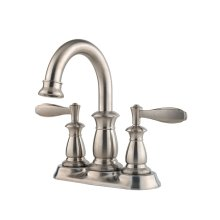 Brushed Nickel Langston Centerset Bath Faucet