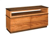 Audri 4-Drawer Open TV Stand Product Image
