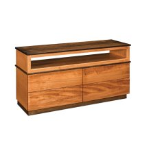 Audri 4-Drawer Open TV Stand