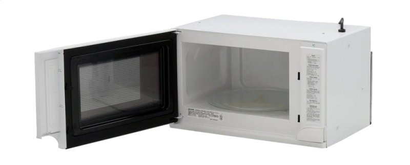 1100w Sharp White Over The Counter Carousel Microwave