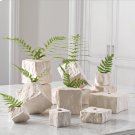 Rocky Block Vase-Tilted-Lg Product Image
