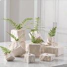 Rocky Block Vase-Tilted-Lg Product Image