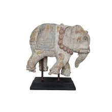 Weathered Elephant On Stand