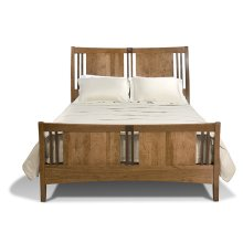 North Cove Sleigh Bed