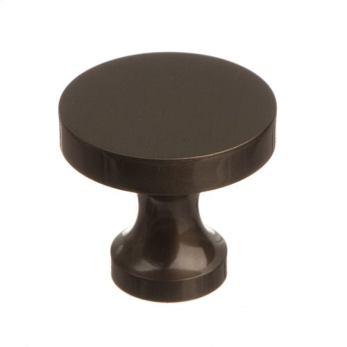 "1 1/8"" Knob - Oil Rubbed Bronze"
