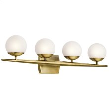 Jasper Collection Jasper 4 Light Halogen Bath Light in NBR