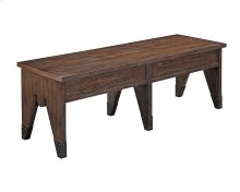 Attic Retreat Wood Seat Lifttop Dining Bench