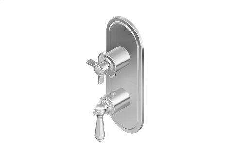 M-Series Valve Trim with Two Handles