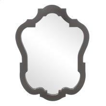 Asbury Mirror - Glossy Charcoal