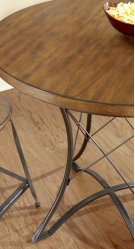"""Adele Round Counter Table, 36"""" x 36"""" x 36"""" Product Image"""