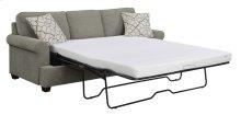 """Tranquility - 6/6 King Chofa Sleeper-sand W/3.85"""" Gel Foam Mattress-2 Accent Pillows"""