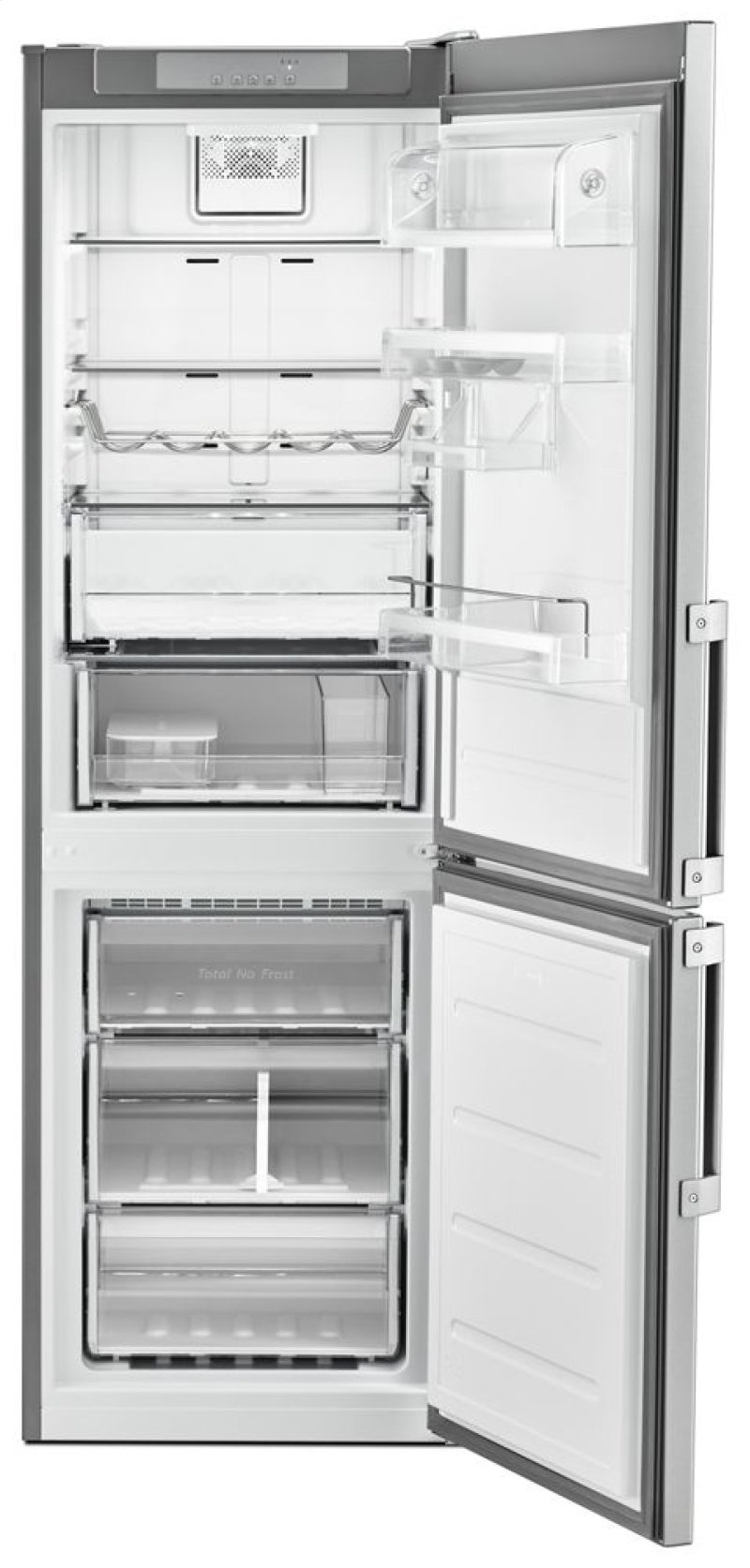 Bottom Mount Refrigerator 24 Inches Wide