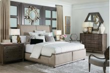 HOT BUY CLEARANCE!!! Geode Amethyst King Upholstered Bed Group