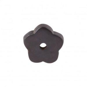 Aspen Flower Backplate 1 Inch - Medium Bronze
