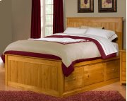 Alder Shaker Storage Bed 3 Large Drawers each Side QUEEN Product Image