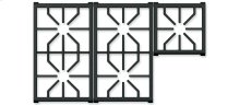 "36"" Professional Gas Cooktop Grate Set"