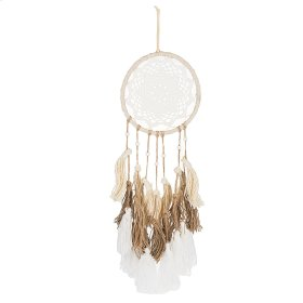 Natural Ombre Dreamcatcher with Triple Tassels.