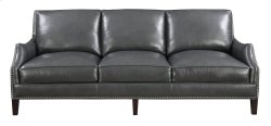 Emerald Home Luigi Sofa-charcoal Leather U1211-00-03 Product Image