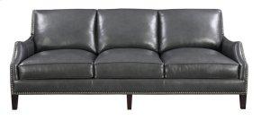 Emerald Home Luigi Sofa-charcoal Leather U1211-00-03