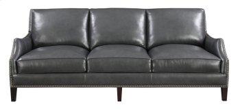 Emerald Home Luigi Sofa-charcoal Leather U1211-00-03 Product Image