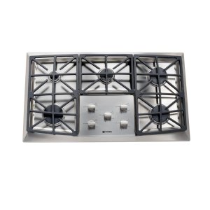 "VeronaStainless Steel 36"" Gas 5 - Burner Front Control"