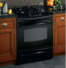 "GE Profile™ 30"" Slide-In Gas Range"