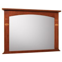 Oak Harvey Ellis Mirror