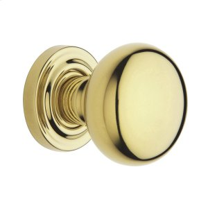 Lifetime Polished Brass 5000 Estate Knob Product Image