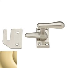 Polished Brass Casement Fastener