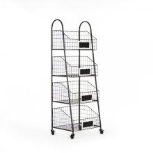 Rafael Basket Storage Cart