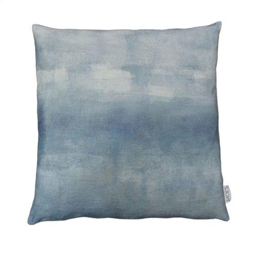 Misty Velvet Feather Cushion 25x25