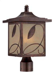 "9"" Post Lantern in Flemish Copper"