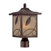 "9"" Post Lantern in Flemish Copper"