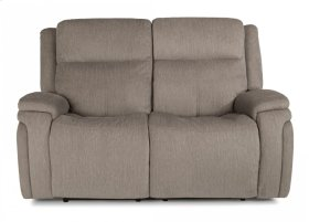 Rocket Fabric Power Reclining Loveseat with Power Headrests